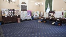 CA Invention Convention display at the State Capitol
