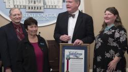 Assemblymember Stone presents an Assembly Resolution for the CA Invention Convention