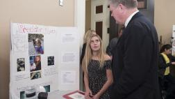 Assemblymember Stone with a CA Invention Convention participate